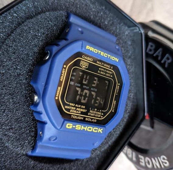 Casio G-shock Dw5600cc-2dr Primeira Linha + Lata G-shock