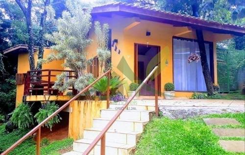 Linda Casa Térrea À Venda Em Condomínio Bairro Itapetinga Atibaia - 1632