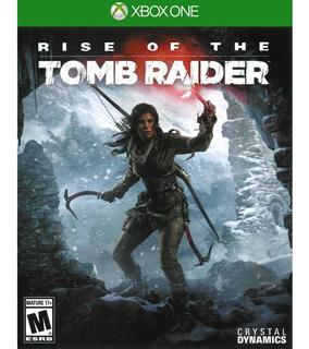 Rise Of The Tomb Raider / Xbox One / N0 Codigo / Modo Local