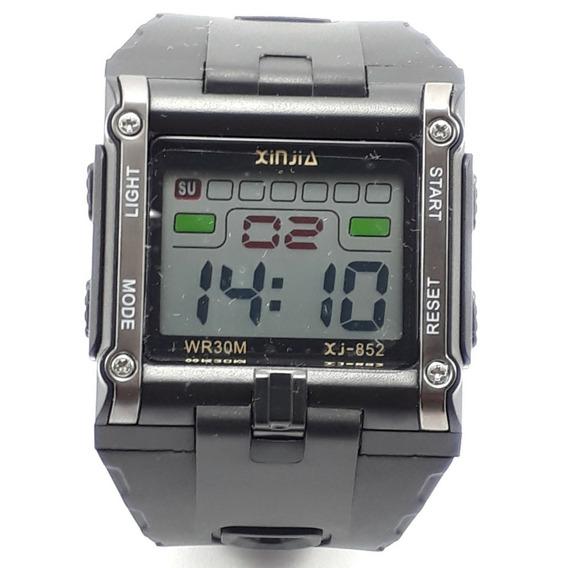 Relógio Digital Masculino Original Resistente A Água Barato
