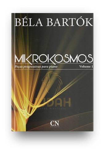 Imagem 1 de 1 de Bela Bartok - Mikrokosmos Vol. 1 - Cn-024