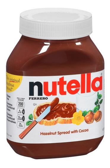 Nutella Ferrero Dulce Chocolate 950 Grs Original Sellada