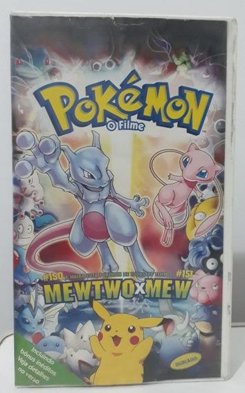 Filme Fita Vhs- Pokemon O Filme- Dublado- Ano 2000