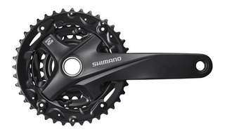 Palancas Shimano Fc-mt210 Hollowtech 40-30-22 - Racer Bikes
