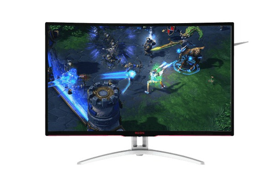 Monitor 32 Led Curve Aoc Gamer Agon Port Amd Free Sync- Ag32