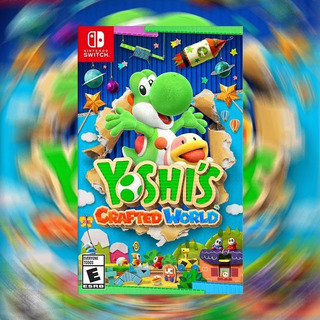 Yoshi´s Crafted World Nsw- Audiojuegos