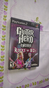 Guitar Hero Encore - Rocks The 80s - Playstation 2 - Eua