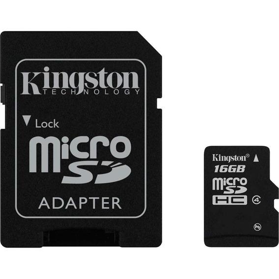 Cartão De Memória Micro Sd 16gb Kingston