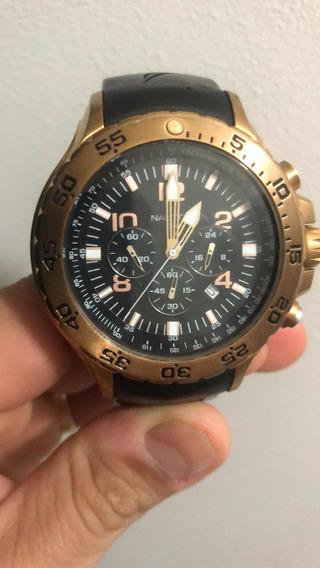 Relógio Nautica Dourado