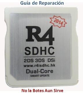 R4 Nintendo Ds, Guía De Reparación.
