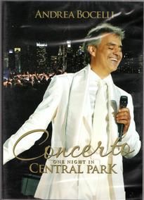 Dvd Andrea Bocelli - Concerto One Night Central Park
