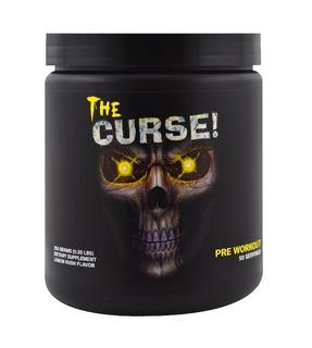 Pré Treino The Curse! 50 Doses Servings Cobra Suplementos