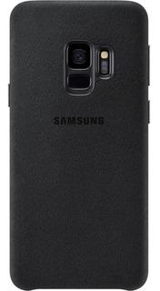 Capa Protetora Alcantara Original Samsung Galaxy S9 Preta