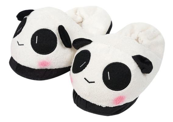 Pantuflas Panda Oso Kawaii Zapato Mujer Niñas Bear Nuevo =)