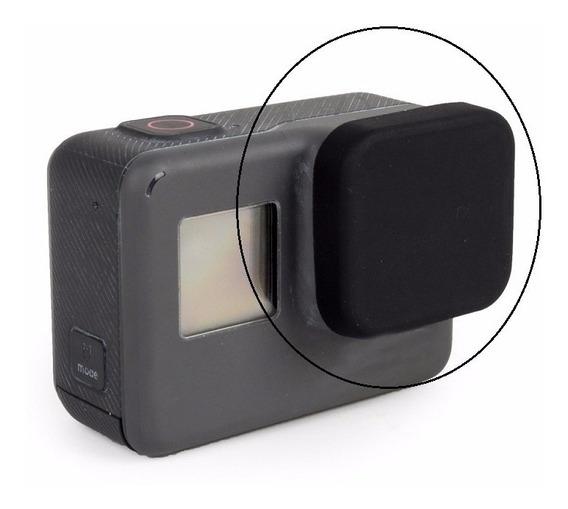 Tampa Protetora De Silicone Para Lente Da Câmera Gopro Hero5