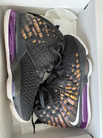 Tênis Nike Lebron 17 Xvii Lakers