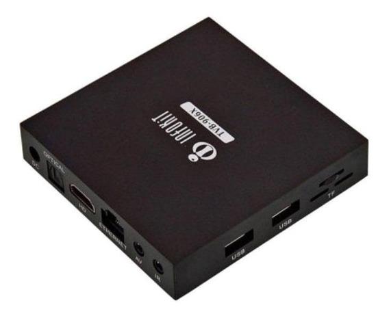 Tv box Infokit TVB-906X padrão Full HD 16GB preto com memória RAM de 2GB