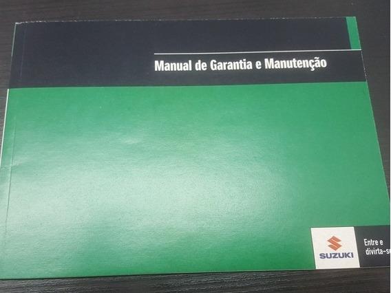 Manual Garantia E Manutenção Suzuki Grand Vitara Jimny Scros