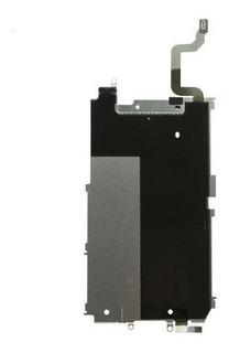 Placa De Metal + Flex Conector Botão Home iPhone 6