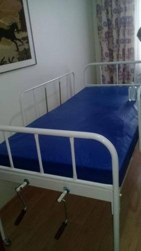 Imagem 1 de 4 de Aluguel De Cama Hospitalar Manual