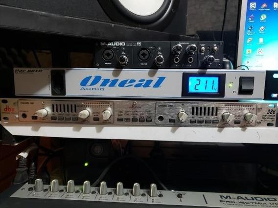 Pré-amplificador Valvulado Dbx 386
