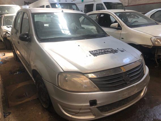 Renault Logan 1.6 2013 No Chocado Faltantes Para Transferir