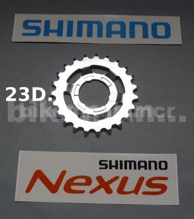 Pinhão 23 Dentes Original P/ Cubos Shimano Nexus 3v-5v-7v-8v