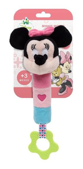 Pelúcia De Atividades - Disney - Minnie Mouse Com Buzininha