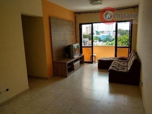 Apartamento Residencial Para Locação, Centro, Guarulhos - Ap4636. - Ap4636