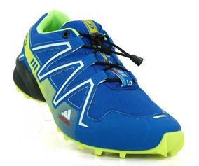 Tênis adidas Speedcross 3 Azul E Verde