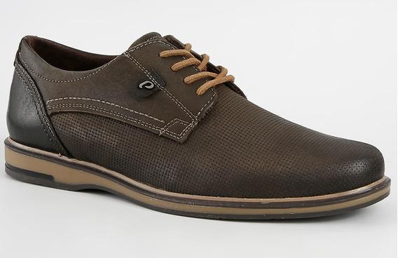 Sapato Masculino Pegada Couro Legitimo