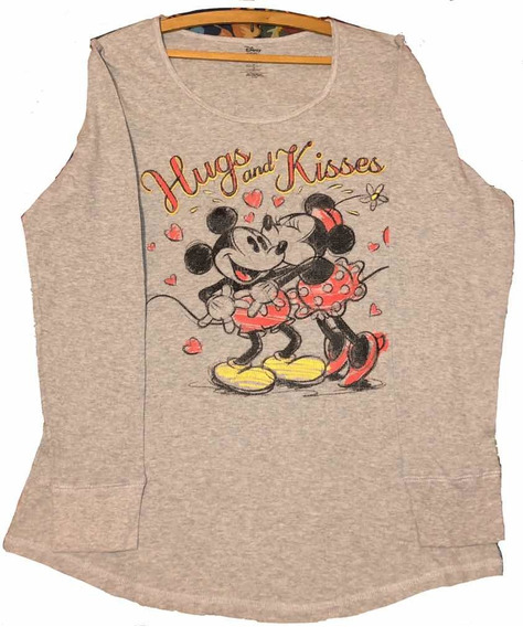 Remera Disney Original 100% Algodón L Y Xl