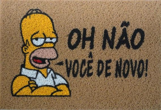 Tapete Personalizado Divertido Simpson Oh Não Você De Novo !