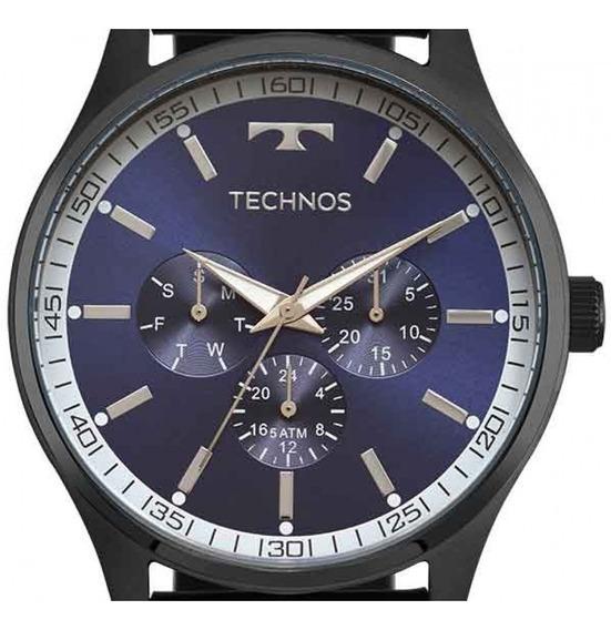 Relógio Masculino Technos Steel Preto - 6p29ajp/2a