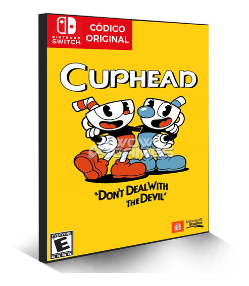 Cuphead - Nintendo Switch Código Eshop Digital