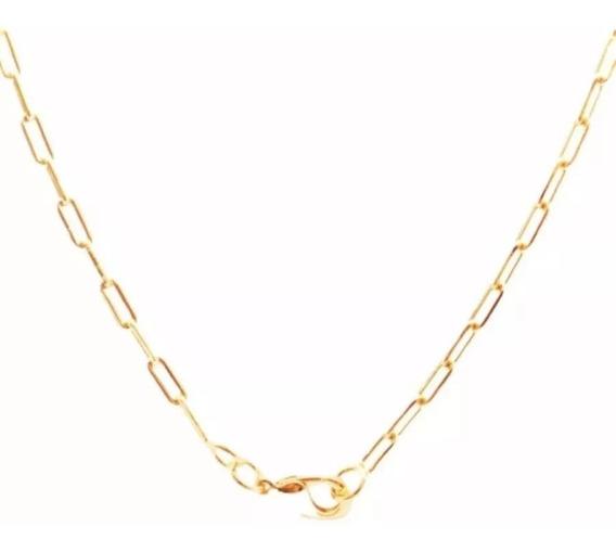 1 Corrente Cordão Folheado Ouro 18k 3mm - 60cm (envio 9,90)