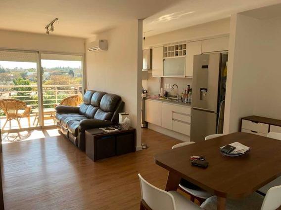 Dueño Vende Apartamento 2 Dorm Con Terraza Y Parrillero