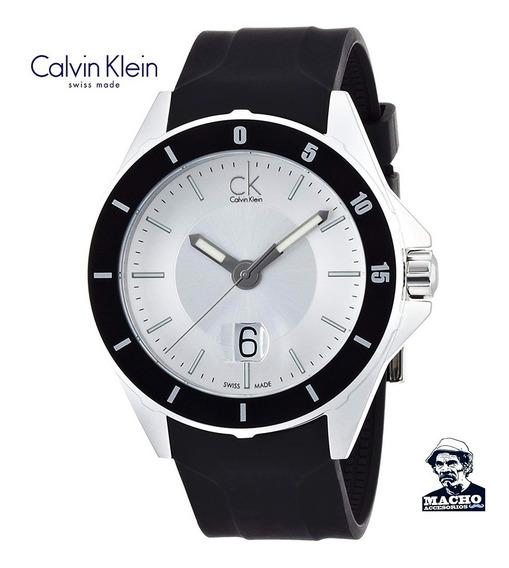 Reloj Calvin Klein K2w21xd6 Play Suizo Original Con Garantia