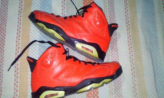 Botas Nike Air Retro 6 Infrared
