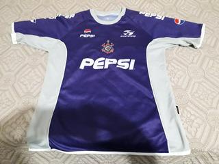 Camisa Corinthians 2001 - Treino Roxa