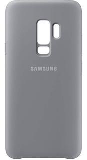 Capa Protetora Samsung Galaxy S9 Plus Silicone Cover Cinza