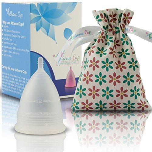 Athena Menstrual Copa - Tamaño 2, Clara Y Transparente - -
