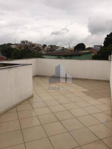 Oportunidade! Cobertura Nova Sem Condomínio, Com 2 Vagas - Parque Novo Oratório - Santo André/sp - Co0086