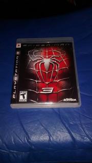 Juego De Ps3 Spider Man 3, Físico Usado, Muy Buen Estado