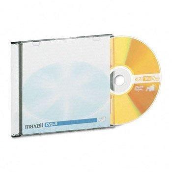 Discos Maxell 638004 Dvd-r, 4.7gb, 16x, Con Estuches Jewel,