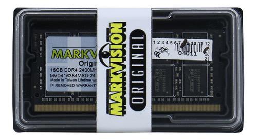 Memória RAM  16GB 1x16GB Markvision MVD416384MSD-24