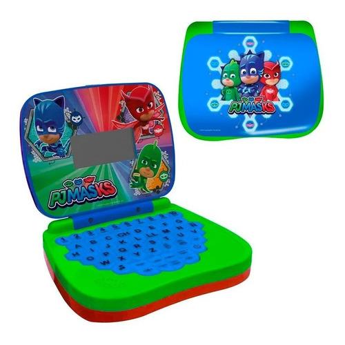 Laptop Infantil Para Crinças Bilíngue Pjmasks Candide Loi