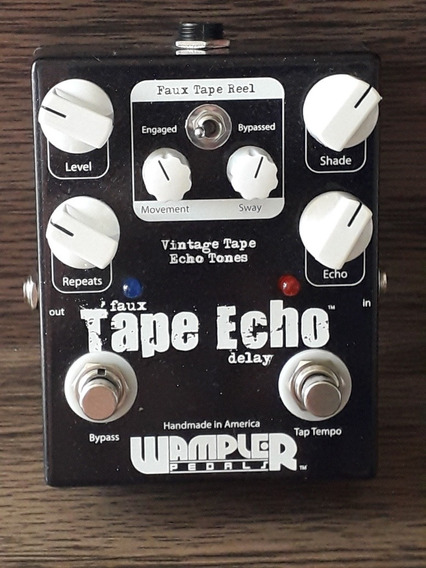 Pedal Delay Analógico Wampler Faux Tape Echo Boss Jhs