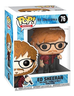 Funko Pop Ed Sheeran 76 Original Pop Rocks Scarlet Kids