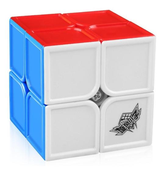 Cubo Mágico 2x2x2 Cyclone Boys Feichang Colorido Em Estoque